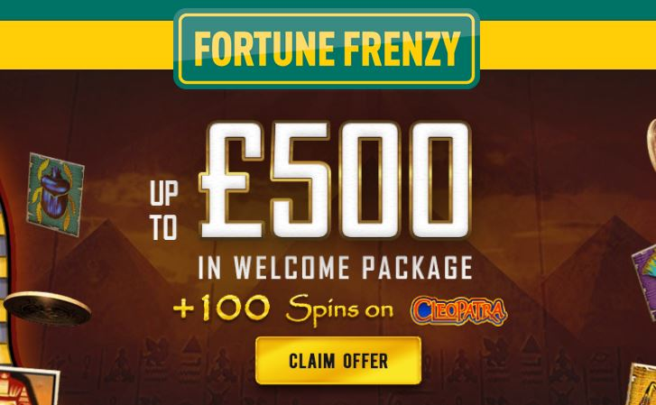 Cleopatra Free Spins
